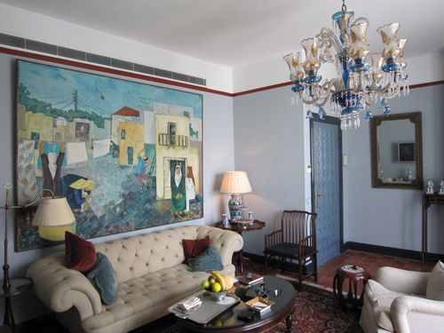 Sitting room, Hotel Albergo suite