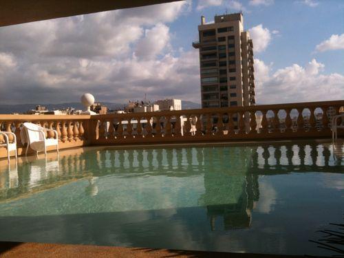 Rooftop pool, Hotel Albergo